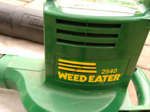 Weed Eater Vacuum and Blower