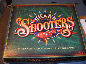 Sharp Shooters- dice party game 1994 London Ontario image 1