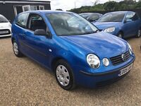 VW POLO 1.2S 3DR 2005 IDEAL FIRST CAR CHEAP INSURANCE AND FULL SERVICE HISTORY