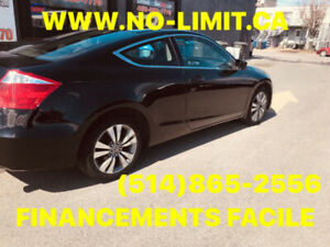 HONDA ACCORD COUPE 2010 AUTOMATIQUE 4 CYL FINANCEMENTS FACILES