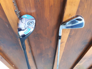 Titleist 716 T-MB #3 Hybrid Iron and Ping G #2 Hybrid