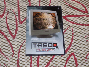 WWE TABOO TUESDAY DVD OCTOBER 2004 PPV RIC FLAIR VS. RANDY ORTON