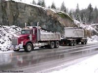 Looking for an experienced gravel truck driver