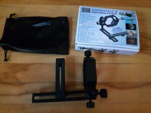 Digiscoping adapter for telescope or spotting scope