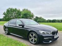 2016 BMW 7 Series 3.0 730Ld M Sport Auto (s/s) 4dr Saloon Diesel Automatic