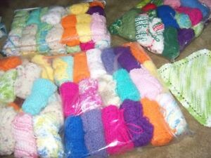 Dishcloths, Handcrafted, Various Colours, $2.00 each