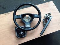 Vw golf GT sport leather steering wheel