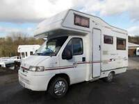 Compass Avantgarde 200 Four berth Motorhome with Two belted seats