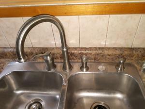 4 peice Moen kitchen faucet