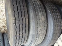 2-275/80R24.5 and 1-285/75R24.5