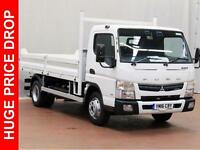 2016 FUSO CANTER 7C18 34 Tipper, DELIVERY MILES ONLY Diesel white Automatic