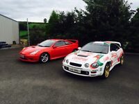 TOYOTA CELICA GT4 and rare GT 190