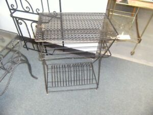 20% OFF.MCM RETRO WROUGHT IRON ACCENT PIECES.