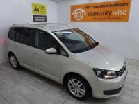SILVER VOLKSWAGEN TOURAN 1.6 SE TDI DSG ***FROM £159 PER MONTH***