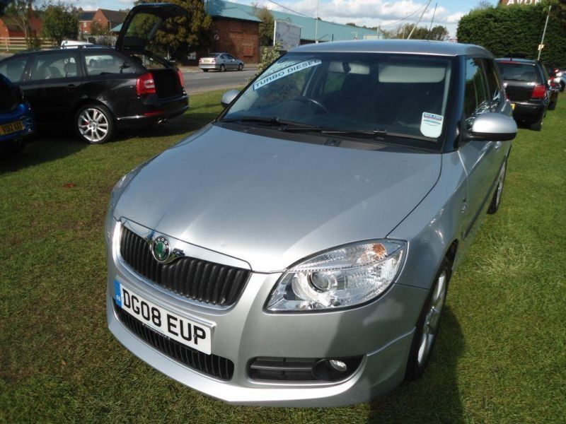 2008 skoda fabia 1 4 tdi pd 80 sport fsh new cambelt in gloucester gloucestershire gumtree. Black Bedroom Furniture Sets. Home Design Ideas