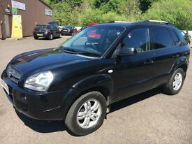 5606 Hyundai Tucson 2.0CRTD 4WD Limited 138 CDX Black 5 Door 61509mls MOT 12m