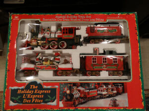 Holiday Express Christmas train Set