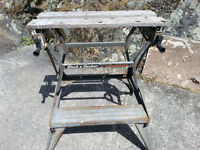 B&D - Workmate portable work table.