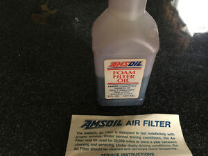 AMSOIL Foam Filter Oil