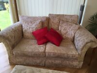 3 piece sofa and footstall
