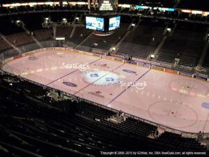 Maple Leafs Tickets 307 row 16 - purples full season