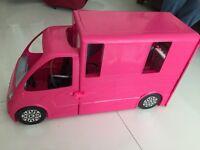 Barbie mobile home