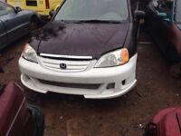 01-03 civic full xenon body kit for sale!!!