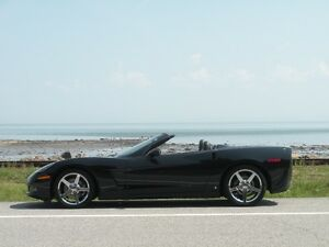2008 Chevrolet Corvette CANADIENNE, DÉCAPOTABLE, TRIPLE BLACK