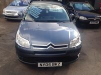 CITREON C4 1.6 76000 MILES FULL SERVICE HISTORY ONLY £1395!!
