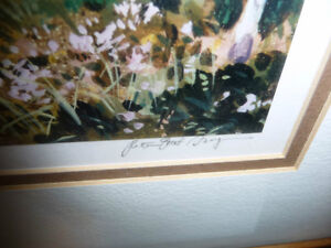 """Peter Etril Snyder """"Cattle By The Covered Bridge"""" Signed/Numbere Stratford Kitchener Area image 5"""