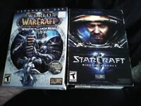Starcraft and Wrath of the Lich King