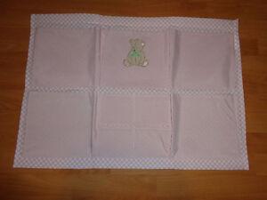 Crib Hanging Side Pocket - Pink