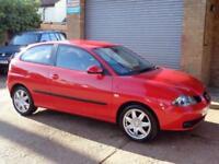 2006 06 SEAT IBIZA 1.4 SPORT 3D 74 BHP