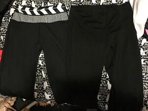 Two pairs of yoga pants