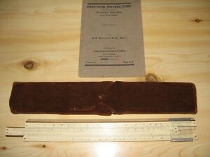 Antique Slide Ruler from India