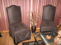 2   DECORATIVE CHAIRS