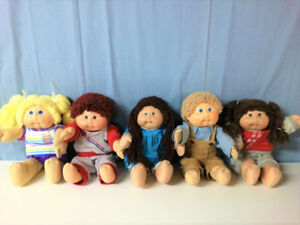 Authentic Cabbage Patch Dolls (Large Size) From 1982
