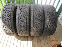 "Set Of 4 Mud & Snow PIRELLI  ""SCORPION"" Tires size 275/55 R 20"
