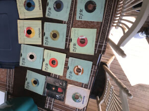 LP records 45's. I have approximately 900 vinyl 45 for sale.