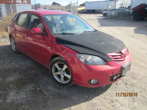 LAST CHANCE PARTS! 2002 MAZDA 3 @ PICNSAVE WOODSTOCK!