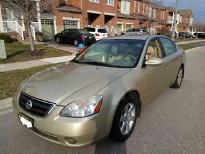 **Original Owner**-2003 Nissan Altima Fully Loaded - AS IS