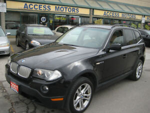 2007 BMW X3, Rare Manual 6 Speed, AWD, Very Clean