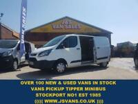 2014 14 FORD TRANSIT CUSTOM LONG WHEEL BASE CUSTOM VANS LOTS IN STOCK DIESEL