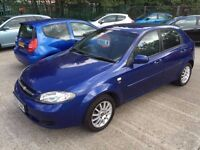 2006 Chevrolet Lacetti 1.6 SX with 12 months MOT service history
