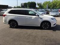2016 Mitsubishi Outlander 2.0 PHEV GX5h 5dr Auto Petrol/PlugIn Elec Hybrid white