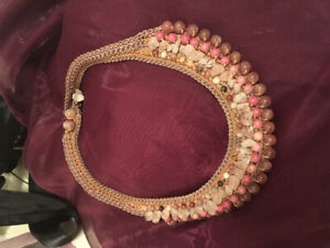Real crystals necklace from Thailand- attracts love