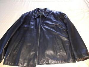 Danier XXL Men's Leather Car Coat