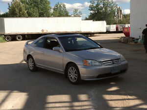 MUST SEE - 2001 Honda Civic SI Coupe (2 door)