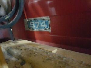 international hydrostatic 574 farm tractor