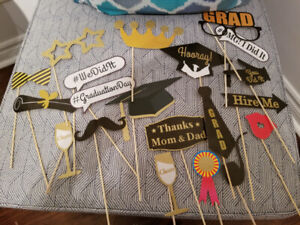 Graduation photo booth props!